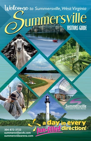 Summersville West Virginia 2019 Visitor Guide By Stallard Studios