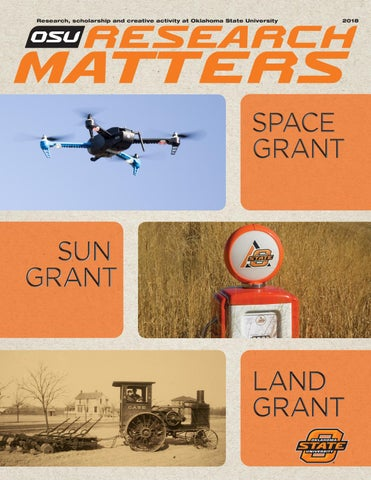 OSU Research Matters 2018 by Oklahoma State - issuu
