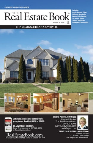 The Real Estate Book of Champaign-Urbana-Savoy, IL Volume 28, Issue 2