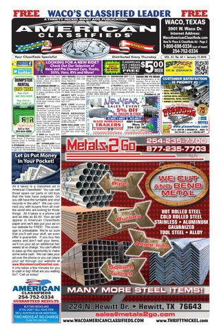 Waco American Classifieds 01_17_2019 by