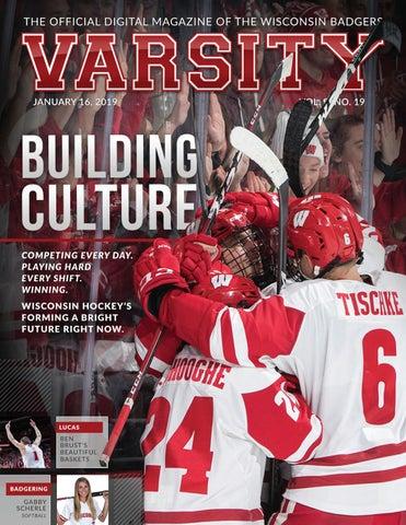 bd71156d8c7 Varsity Magazine - January 16, 2019 by Wisconsin Badgers - issuu