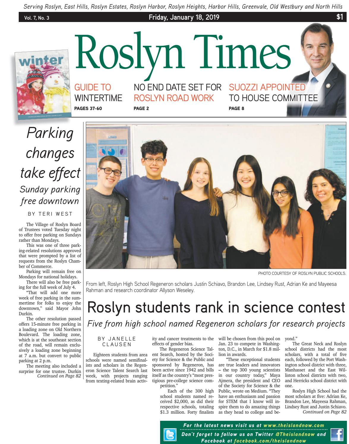 Roslyn 2019_01_18 by The Island Now - issuu