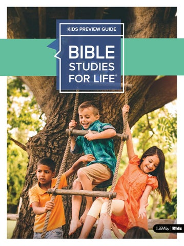 Bible Studies for Life: Kids Preview Guide by LifeWay Kids