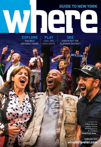fe0069fc1ea Where Magazine New York Feb 2019 by Morris Media Network - issuu