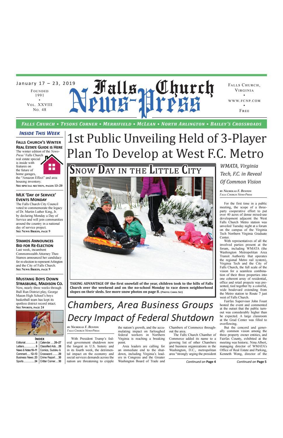 Falls Church News Press 1 17 2019 By