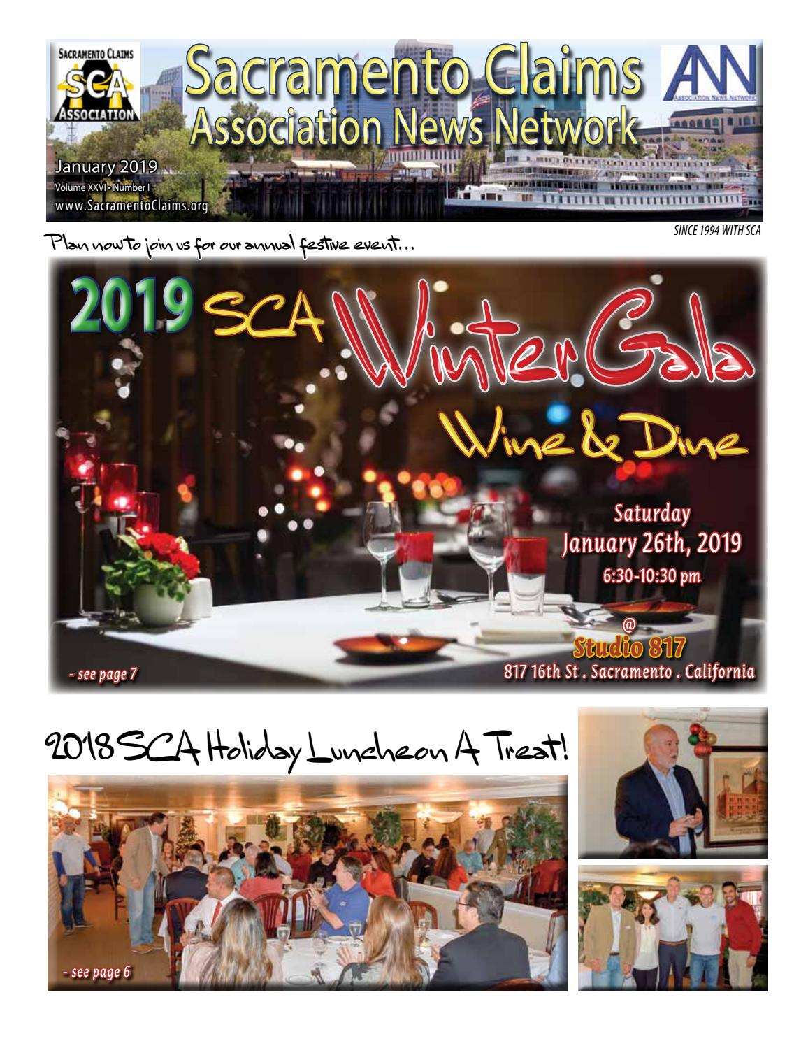 Sacramento Claims Association News Network - January 2019 by