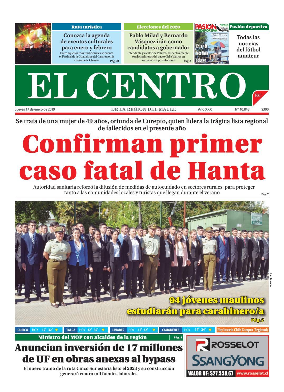 203766bc64c01 Diario 17-01-2019 by Diario El Centro S.A - issuu