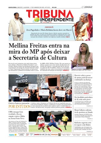 Edição número 3312 - 17 de janeiro de 2019 by Tribuna Hoje - issuu 37b48642db657