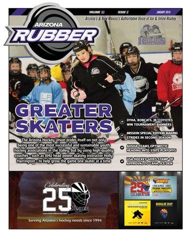 70059506fd9 Arizona Rubber Magazine - January 2019 by Rubber Hockey Magazines ...