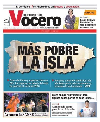 Edición del 17 de enero de 2019 by El Vocero de Puerto Rico - issuu 191c2afb2b4