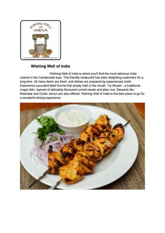 20% Off -Wishing Well of India-Camberwell - Order Food