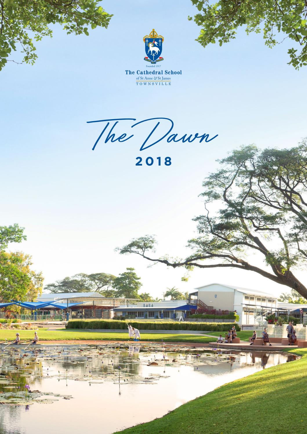 The Dawn 2018 - The Cathedral School by The Cathedral School - issuu