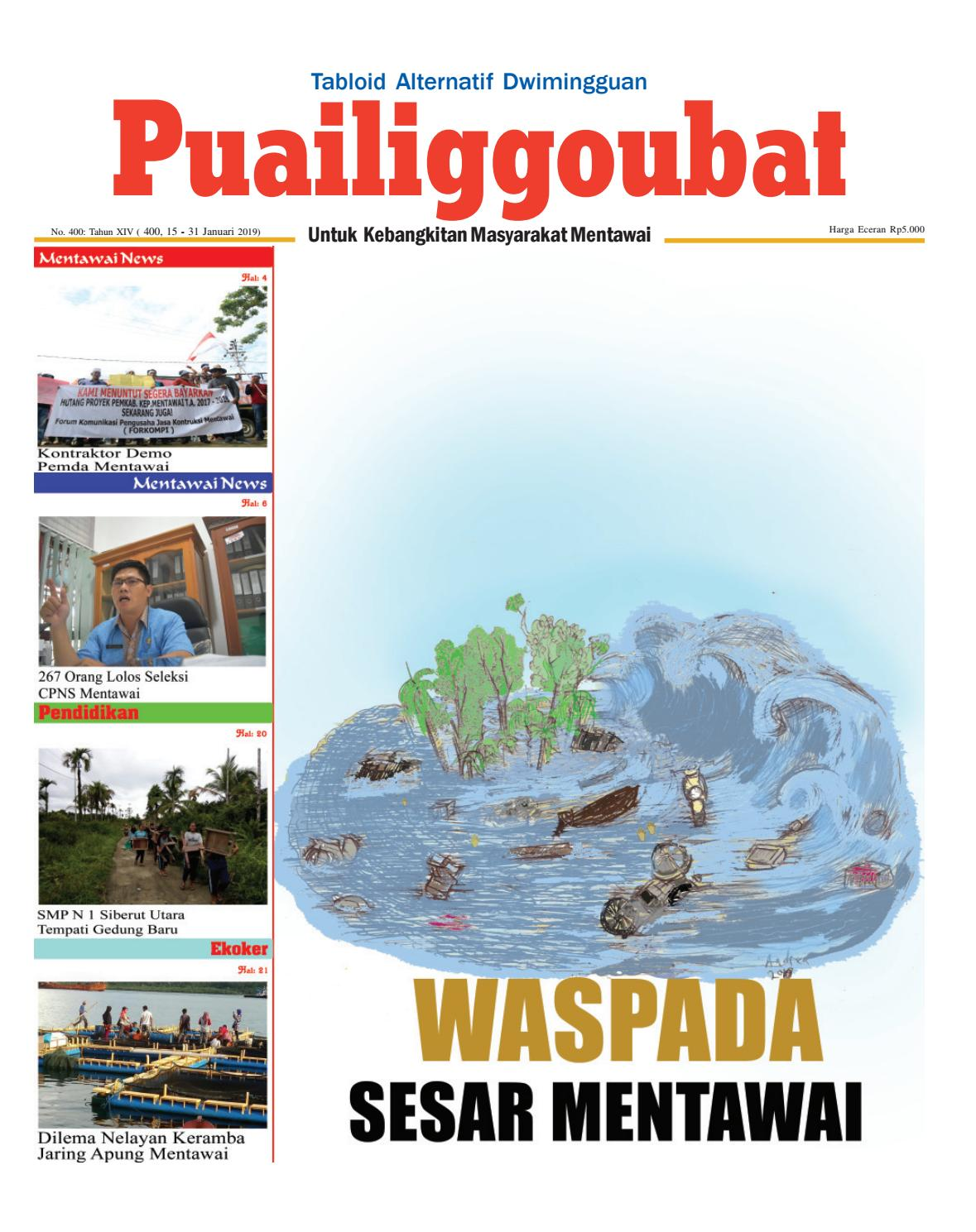 Puailiggoubat NO 400 15 31 Januari 2019 by Redaksi