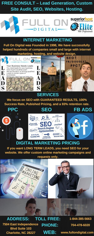 Charlotte digital marketing agency – Full On Digital by