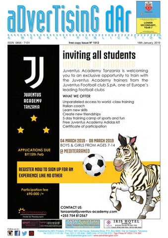 Advertising Dar Issue Nº 1012 - 18th January 54a25f206288