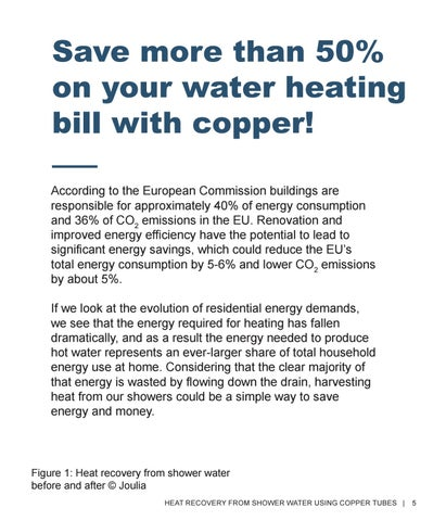 Page 5 of Save more than 50% on your water heating bill with copper!