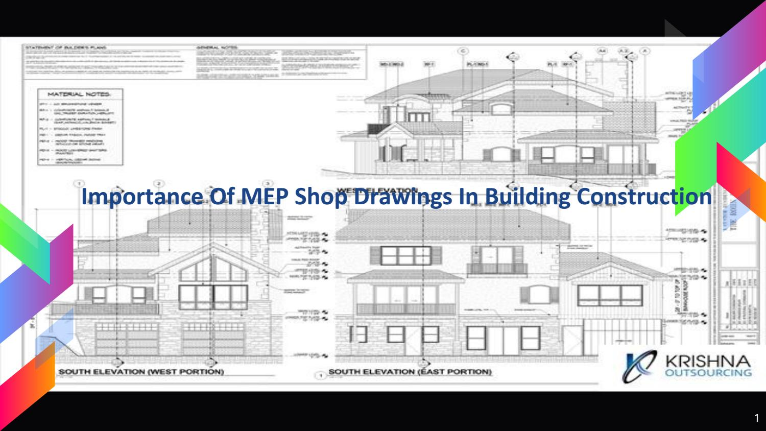 Importance Of MEP Shop Drawings In Building Construction by