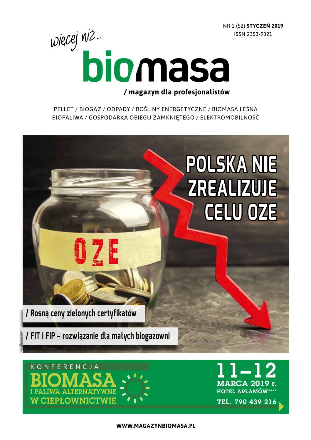 2960dff1508ba7 Magazyn Biomasa nr 1(52)/2019 by Magazyn BIOMASA - issuu
