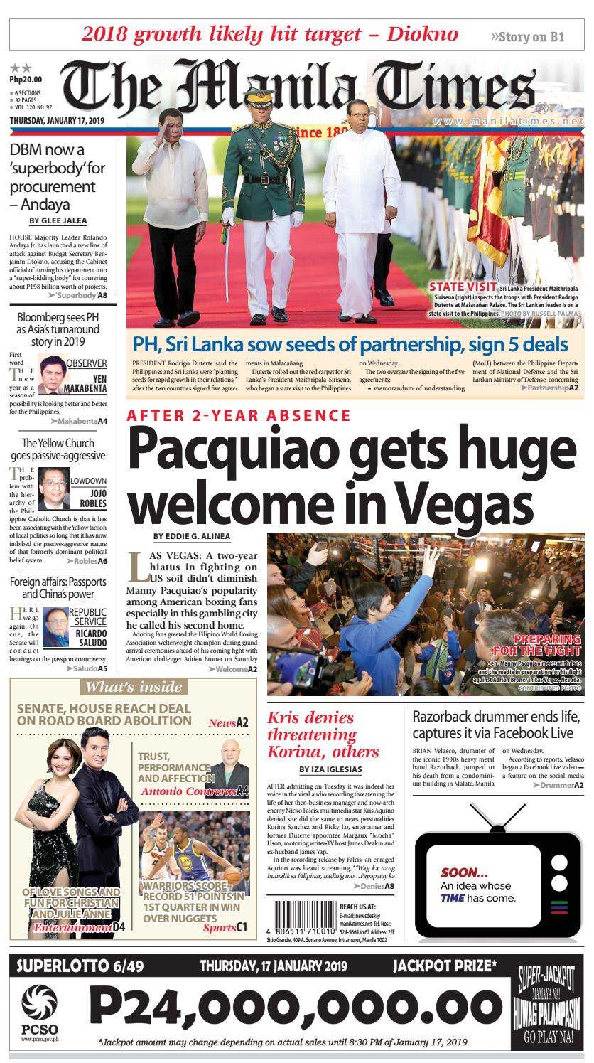 9bb30031fbe7 The Manila Times by The Manila Times - issuu