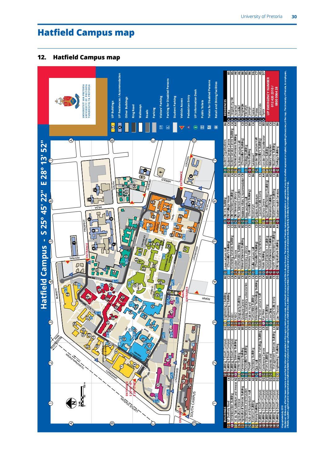 university of pretoria campus map Fact Finder By University Of Pretoria Issuu university of pretoria campus map