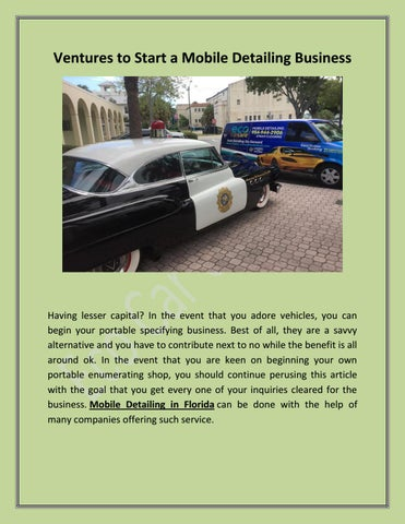 Mobile Car Wash Near Me By Eco Car Care Issuu
