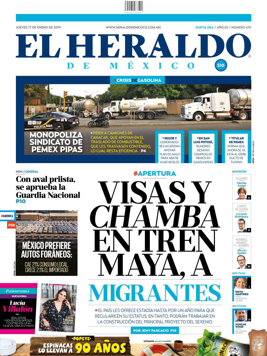 4fe50075acb03 17 de enero de 2019 by El Heraldo de México - issuu