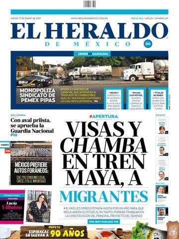 17 de enero de 2019 by El Heraldo de México - issuu eac1f73858f