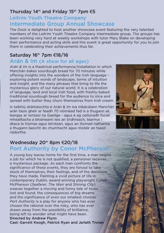 Page 11 of Performances @thedockarts