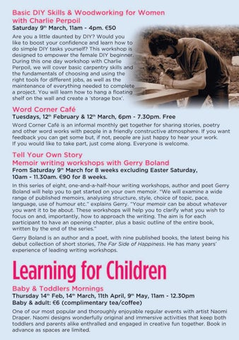 Page 7 of Workshops for Adults
