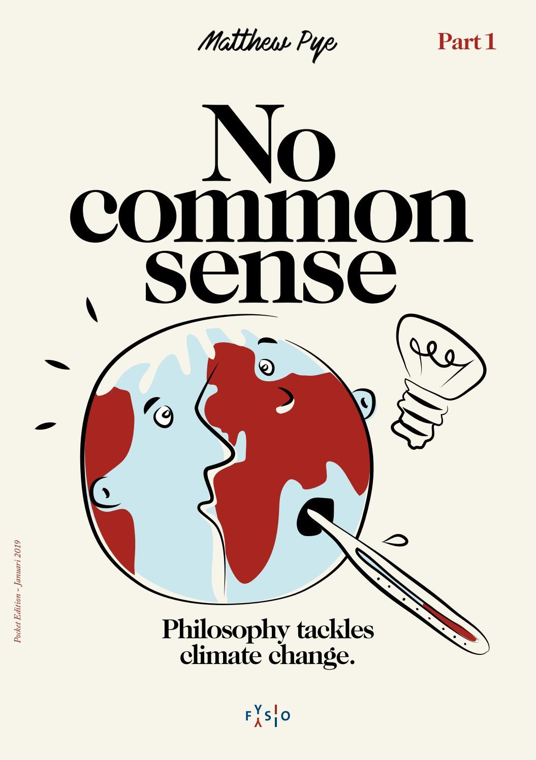 No Common Sense by Fysio Educatief - issuu
