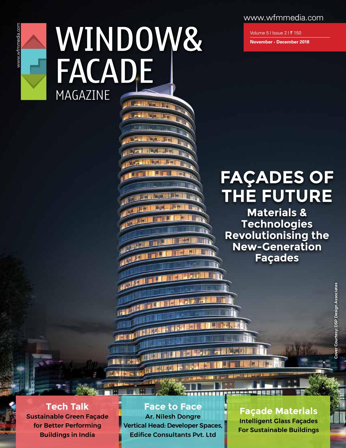 Window & Facade Magazine - November/December 2018 issue by F