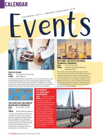 Page 142 of Events Calendar
