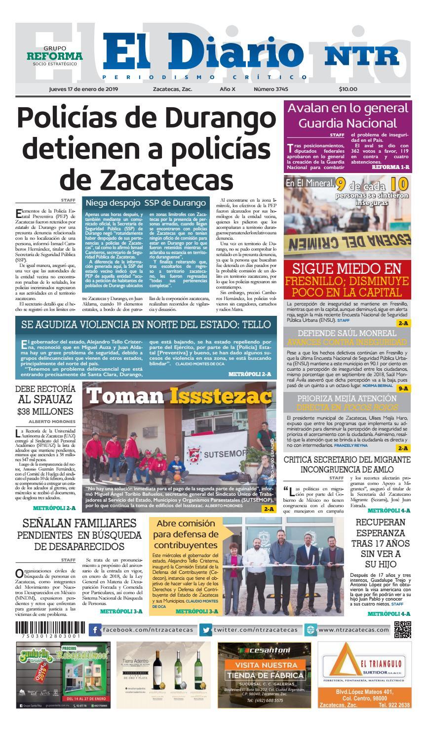 new arrival 88787 9c948 Diario NTR by NTR Medios de Comunicación - issuu