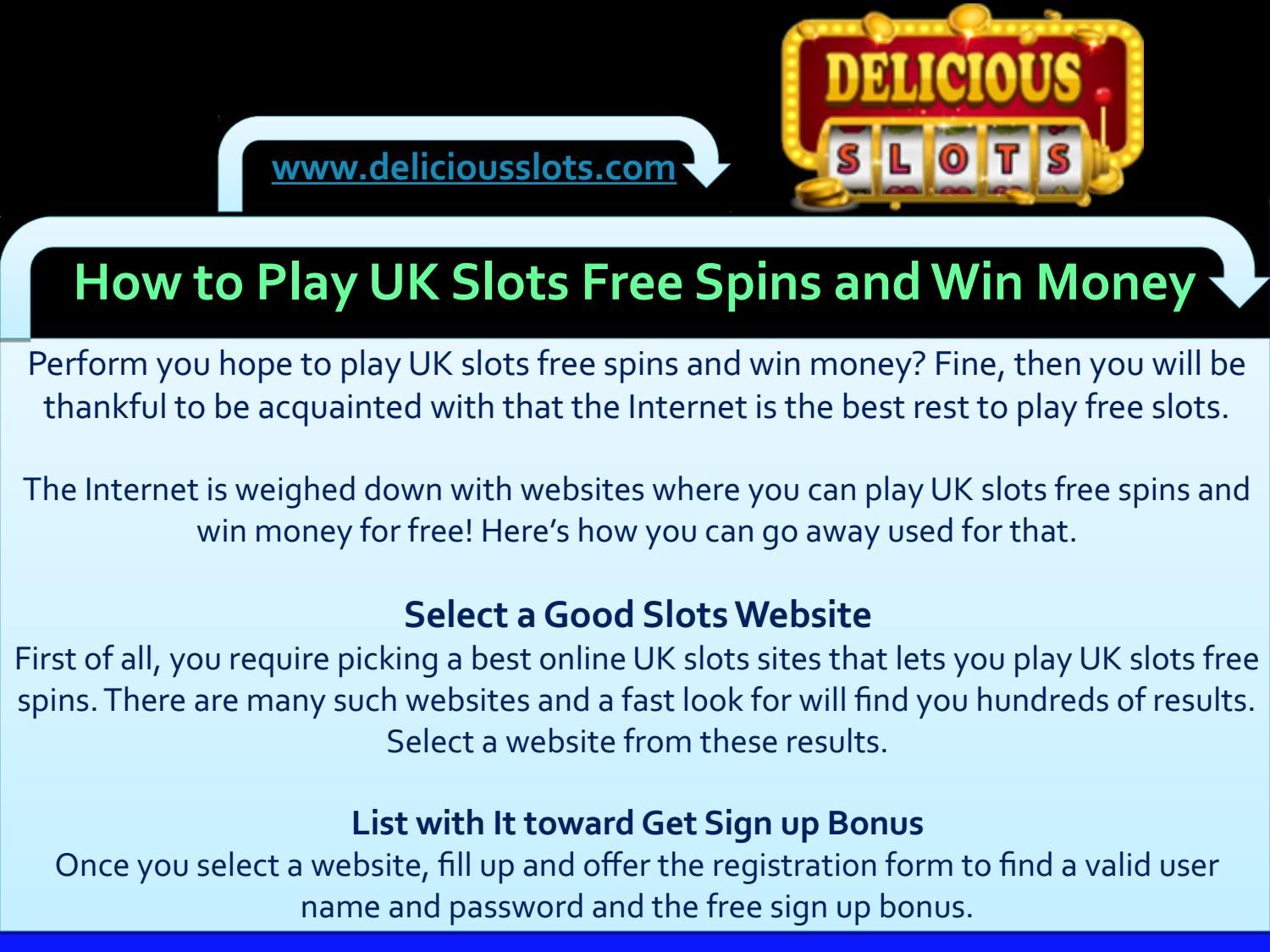 How To Play Uk Slots Free Spins And Win Money By Summay Sanga Issuu