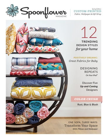 6eeed7ce48e Page 1. Spring Edition. CUSTOM-PRINTED MAGAZINE. Fabric ...