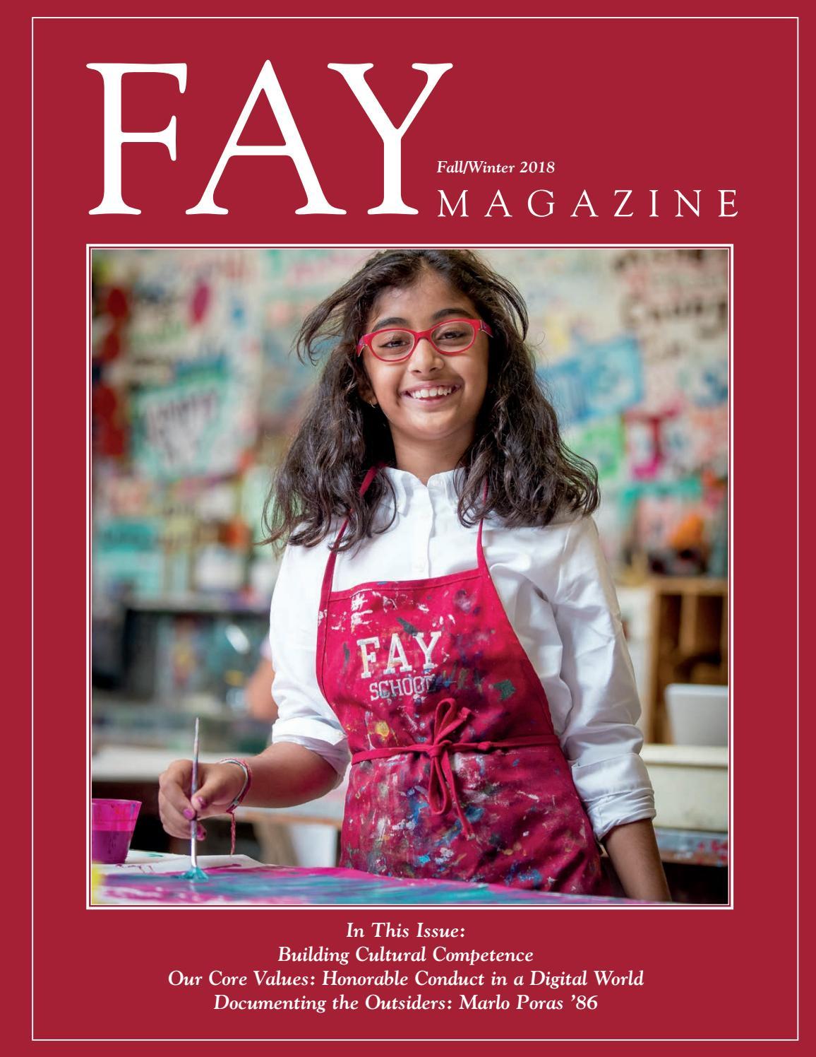 Fay Magazine Fall 2018 by Fay School - issuu fbea962f88756