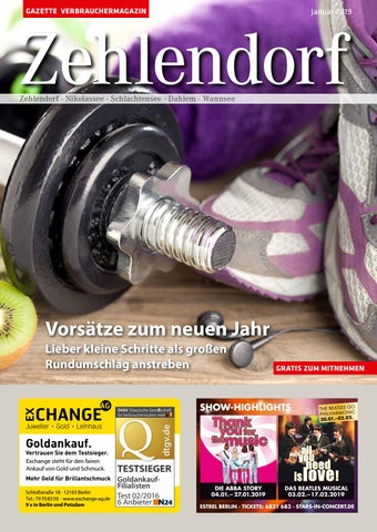 Gazette Zehlendorf Januar 2019 By Gazette Verbrauchermagazin Issuu