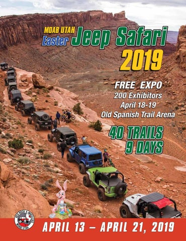b0f8d5d96f Easter Jeep Safari 2019 by Red Rock 4 Wheelers - issuu