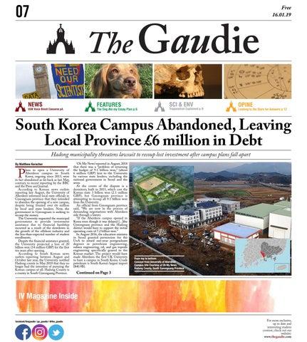 The Gaudie - 16 01 19 by The Gaudie - issuu
