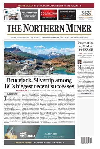 165 Niocorp Appoints Mr Mark A Smith  >> The Northern Miner January 21 2019 Issue By The Northern