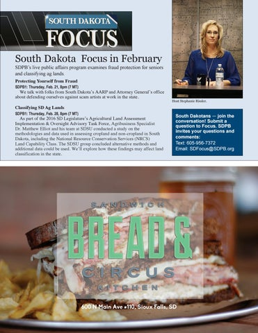 Page 11 of South Dakota Focus in February