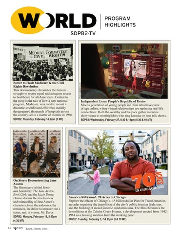 Page 14 of SDPB2-TV World February Highlights
