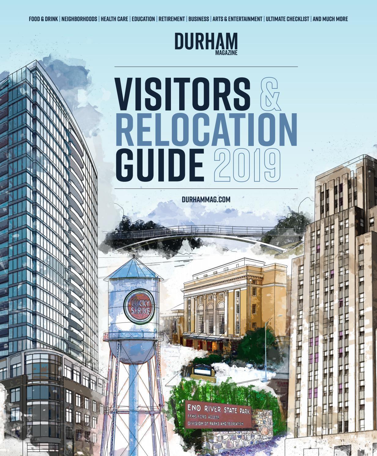 cee315e4e10 Durham Magazine s 2019 Visitors   Relocation Guide by Shannon Media - issuu