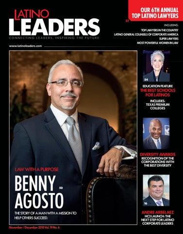 Latino Leaders Magazine- Nov/Dec 2018 by Latino Leaders - issuu