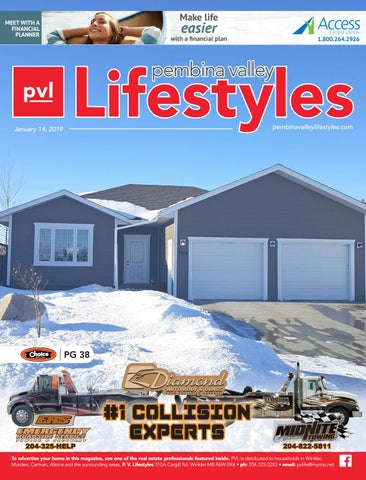 Lifestyles - January 14, 2019 by Pembina Valley Lifestyles