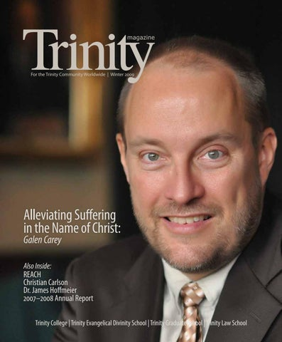 Trinity Magazine (winter '09) by Trinity International University