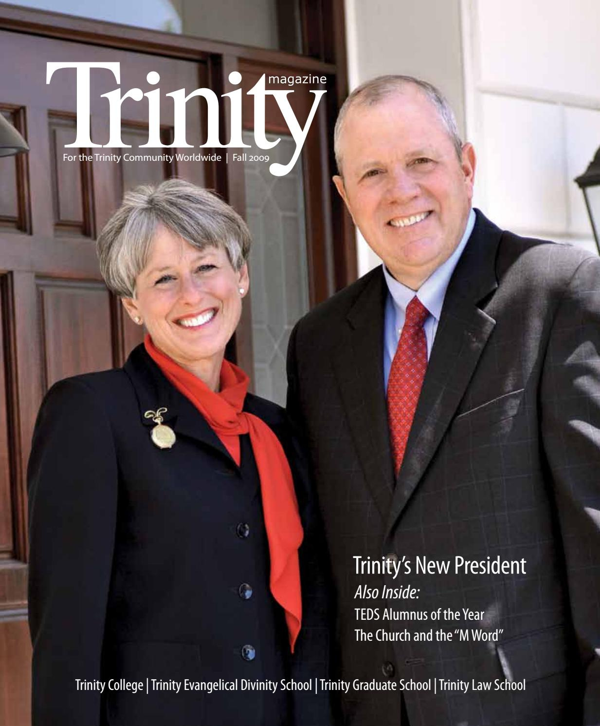 Trinity Magazine (fall '09) by Trinity International