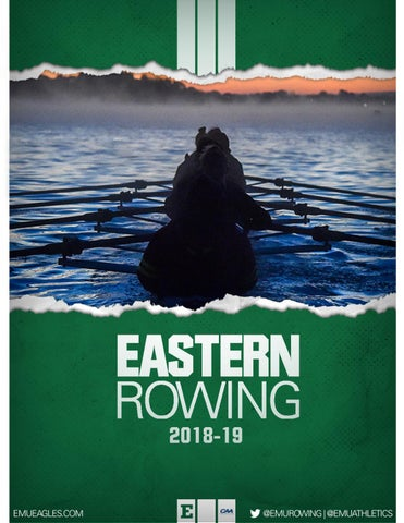 2018 Rowing Media Guide by Eastern Michigan University Athletics - issuu
