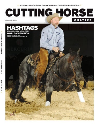 3990cd89ed6d OFFICIAL PUBLICATION OF THE NATIONAL CUTTING HORSE ASSOCIATION