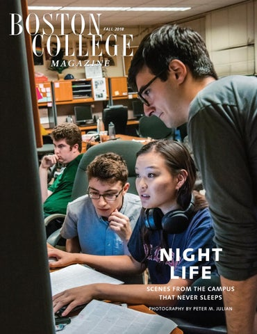 Boston College Magazine Fall 2018 By Boston College Issuu